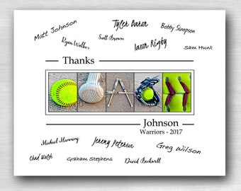 Softball Coach Gift ideas, Coaches Gifts Softball Gift Thank You Coach Softball team, Best Coach Gift End of Season Coach gift softball