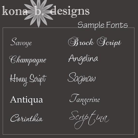 Alphabet Photography Name Frame Photo Letters 10x20 Print unframed Custom Wedding Print
