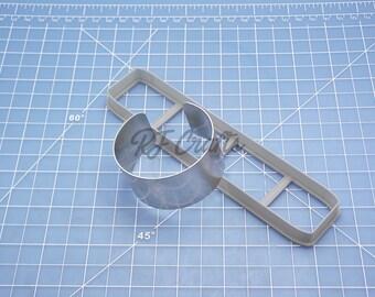 Polymer Clay Cuff Bracelet Kit / Cuff Bracelet Cutter / Bracelet Blank / Set#103