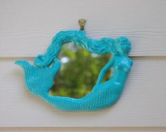 Beach Mermaid Mirror
