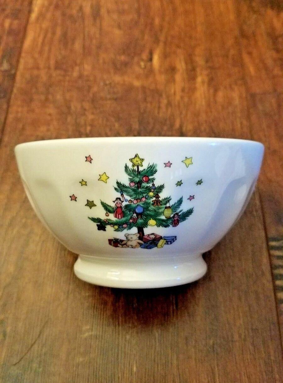 Vintage Nikko Christmastime Nut Bowl Candy Dish   Etsy