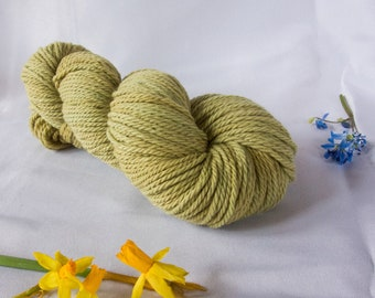 Olive / Worsted / Naturally Hand-Dyed Yarn