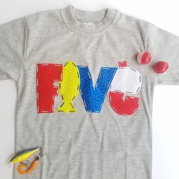 Personalized Fishing birthday shirt for boys custom Fishing shirt Happy Lion Clothing Fish birthday outfit