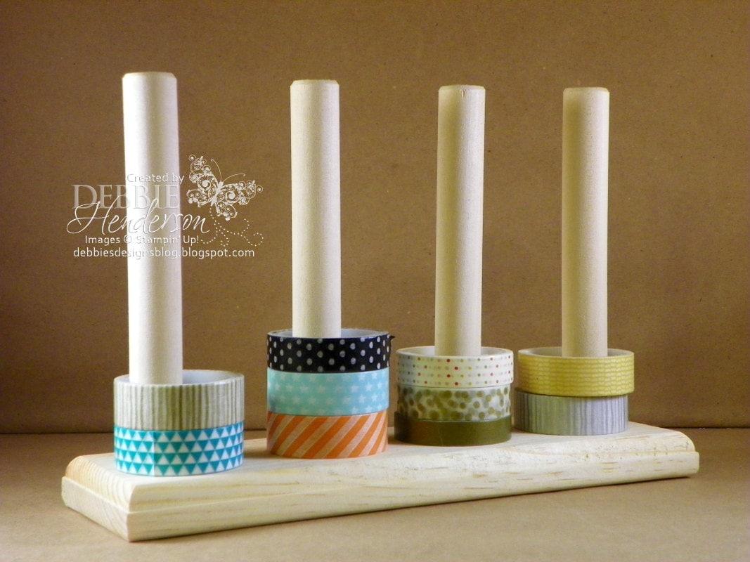 Washi Tape Storage, Washi Tape Holder, Organization Tool