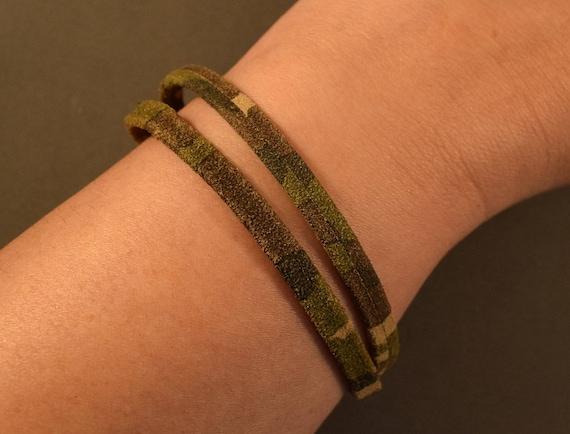 Leather Bracelet-Military Bracelet-Gifts-Army Bracelet-Men Army Bracelet-Friendship Gifts-Military Gifts-Army Gifts-Army Women Bracelet