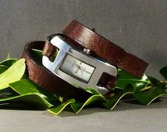 Friendship Bracelet-Friendship Gifts-Watch For Women-Bracelet Watch- Gift for Her-Brown Watch-Leather Watch-Ladies Watch-Watch For Her