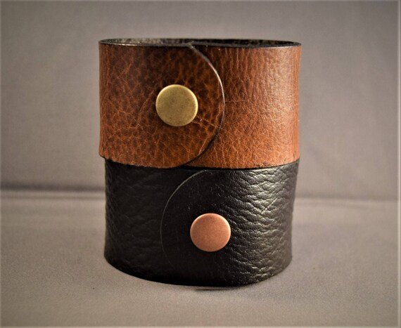Cuff Bracelet-Leather Cuff Bracelet-Women Leather Bracelet-Leather Cuff Women-Men Bracelet-Leather Cuff Men-Gifts For him-Gifts For Her