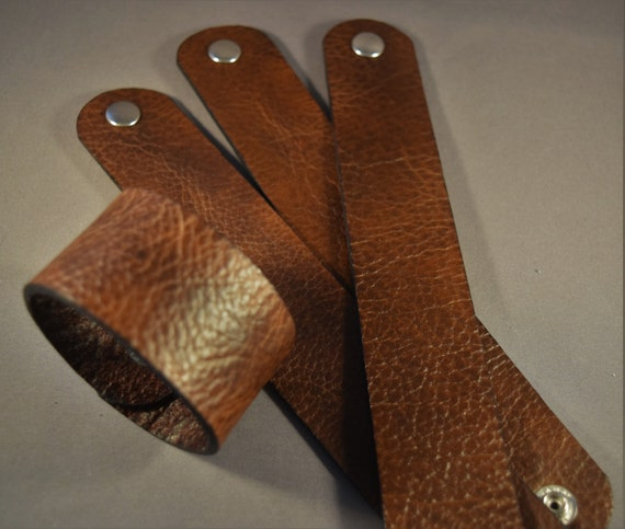 Wholesale leather cuff for supply or for proyect-Wholesale brown leather cuff