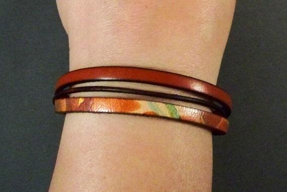 Leather Bracelet-Women Wrist  Bracelet-Friendship Bracelet-Women's Leather Bracelet-Gifts For Her-Friendship Gifts-Bracelet For Women-Gifts