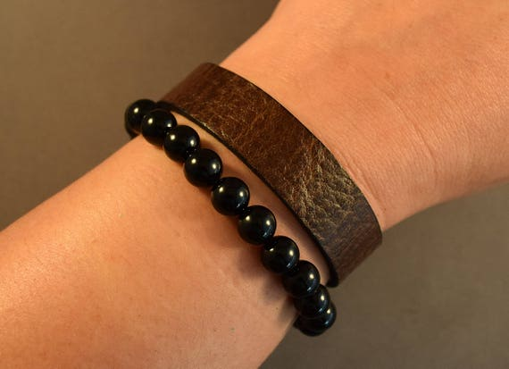 Leather Bracelet-Brown Cuff-Leather Wristband-Friendship Bracelet-Gift-Women Bracelet-Men Bracelet-Bracelet For Him-Bracelet For Women-Gifts