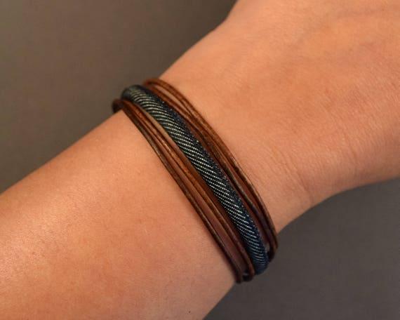 Leather Bracelet-Women's Bracelet-Brown Bracelet-Women Wrist Bracelet-Women Leather Bracelet-Men's Bracelet-Gifts For Her