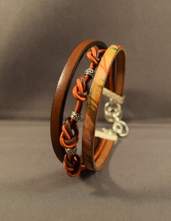 Leather Watch-Brown Leather Bracelet-Women Leather Bracelet-Ladies Leather Bracelet-Friendship Bracelet-Gifts For Her-Friendship Gifts