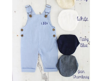 baby boy blue crown romper bodysuit growbag Angel wings gift Clothes Outfit Set
