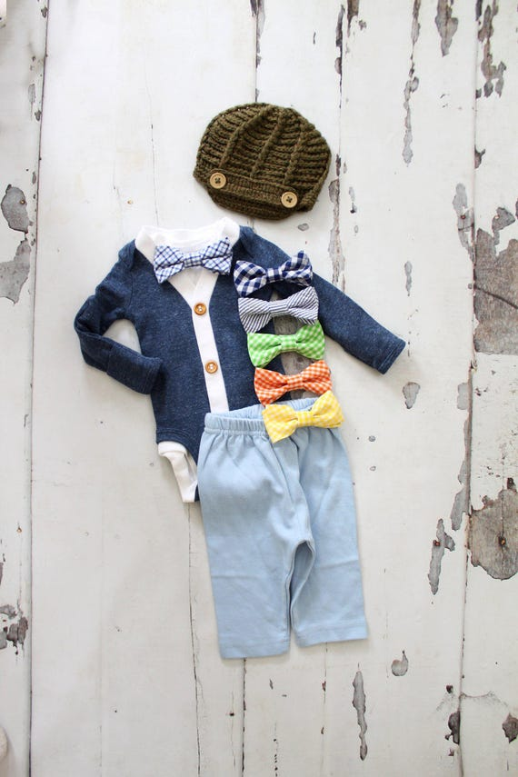 Newborn Baby Boy Coming Home Outfit Set up to 4 Items  6c4ae1dd6694