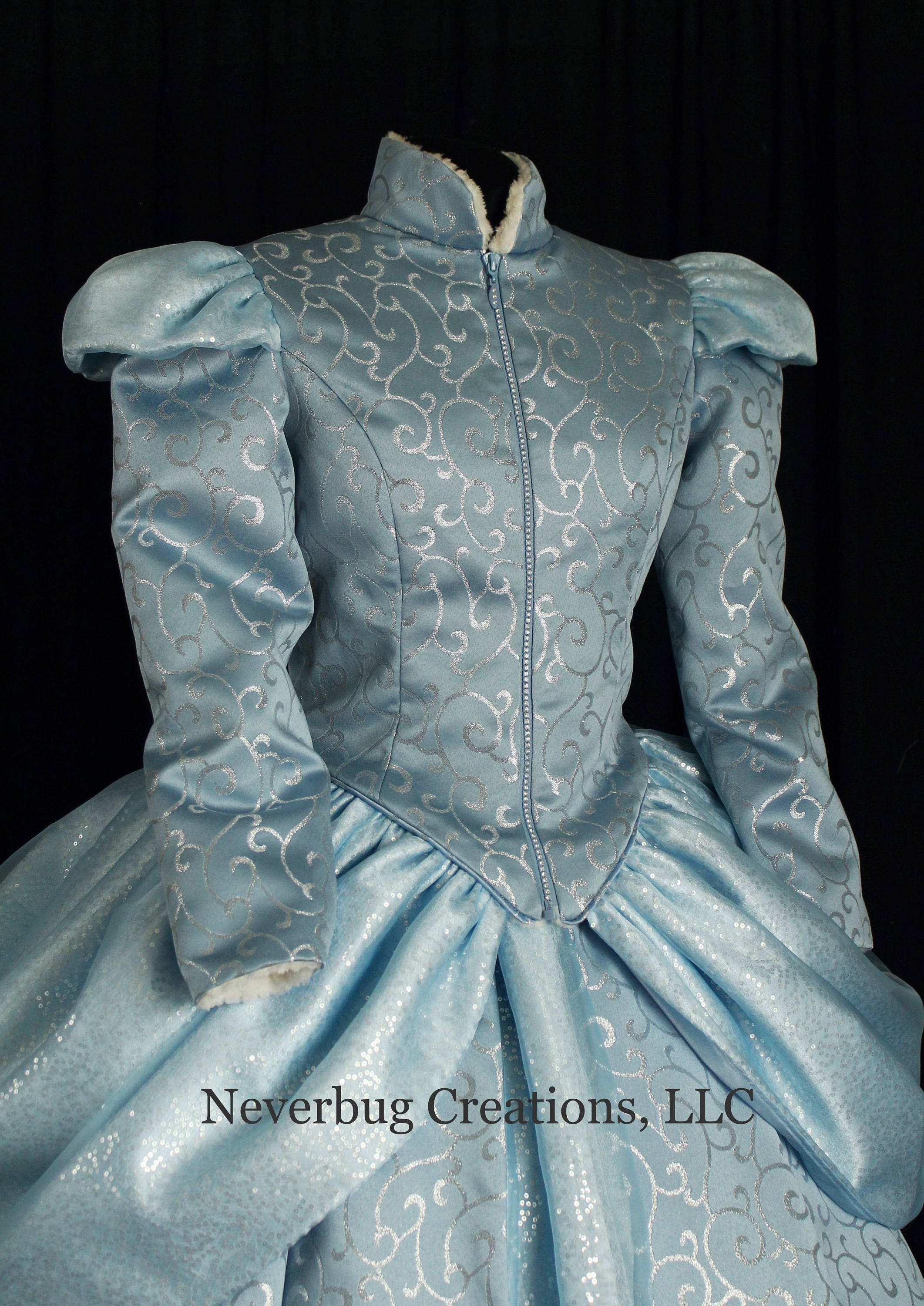 Cinderella Winter Bodice NOTE: NEW FABRIC