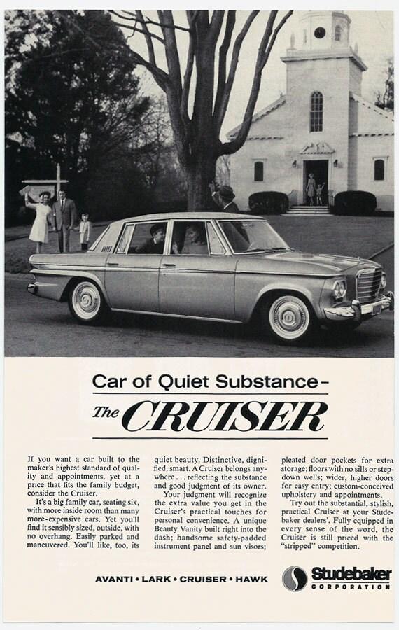 1963 Studebaker Cruiser Ad 1960u0027s Classic Car 60u0027s | Etsy