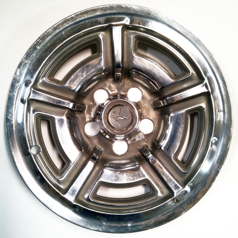 Vintage 1966 1969 Ford Galaxie And Mustang Hubcap Hub Cap Etsy