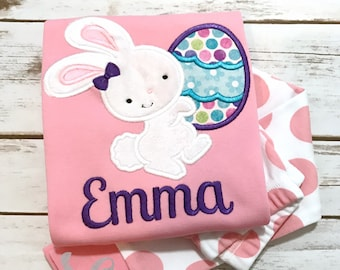 Easter Pajamas - Girls Easter Pajamas - Kids Pajamas - Personalized Pajamas