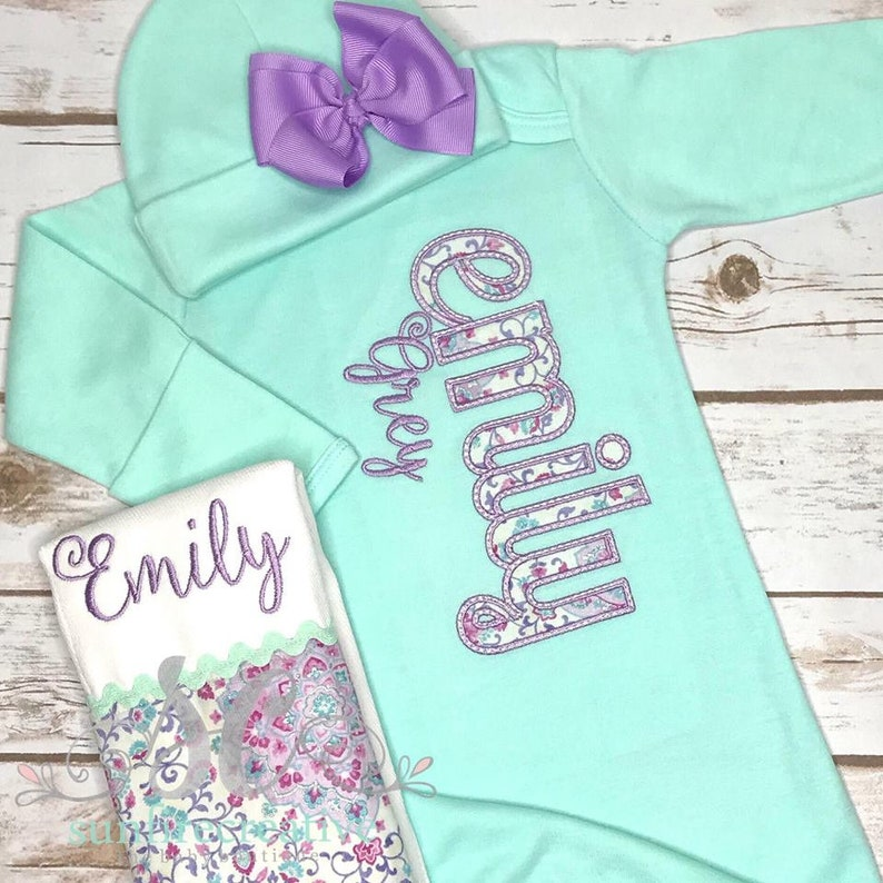c1e835a548cd Baby Girl Coming Home Outfit Baby Girl Gown Baby Girl | Etsy