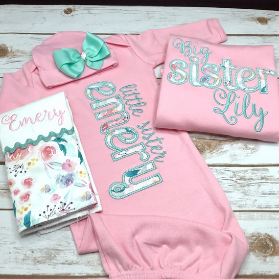 5d511c2ddd2a Big Sister Little Sister Outfits Matching Sister Shirts Big | Etsy