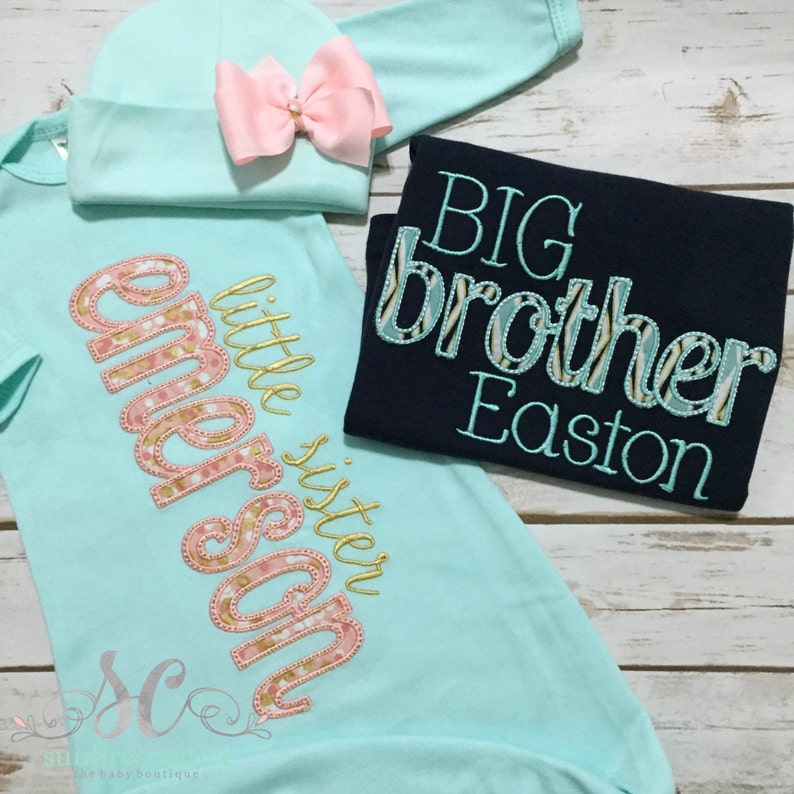 4c7a3faaad0a Big Brother Little Sister Set Big Brother Shirt Little | Etsy