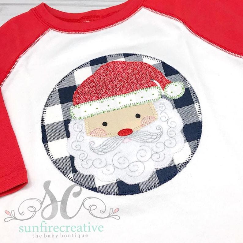8b53da09ad38 Boys Christmas Shirt Toddler Christmas Shirts Santa Claus | Etsy