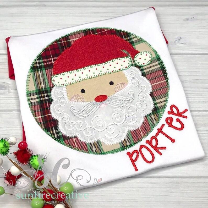 6433b79e9274 Toddler Christmas Shirts Santa Claus Shirt Christmas Outfit | Etsy