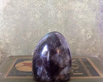 Freestanding Polished Labradorite.