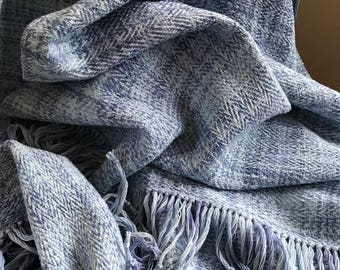 Handwoven and Hand Dyed Shawl #2