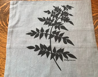 Pillow covers with Wysteria Leaf