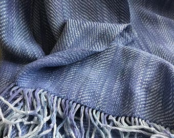 Handwoven and Hand Dyed Shawl#1