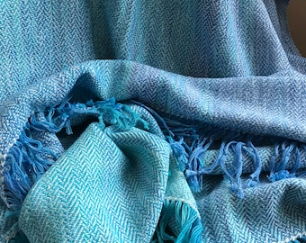 Handwoven and Hand Dyed Shawl #3