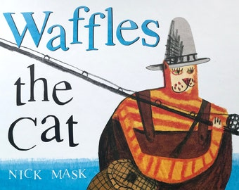 Waffles the Cat - Signed Children's Picture Book by the author/illustrator