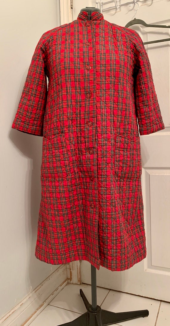 Cabin Christmas 60s Classic Quilted Plaid Bruch Co
