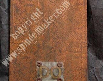 Do Right oxidized copper house