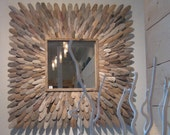 Driftwood Mirror, Icarus