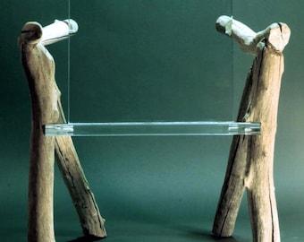 Contemporary Organic Chair, Bare Bones
