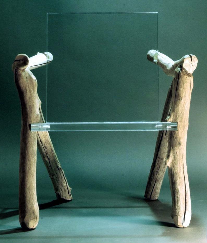 Contemporary Organic Chair Bare Bones image 0