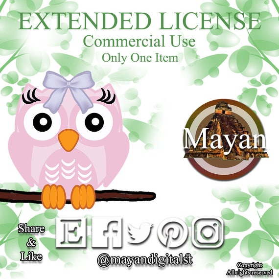 UNLIMITED Extended License for Paper Packs or Clip Art Sets