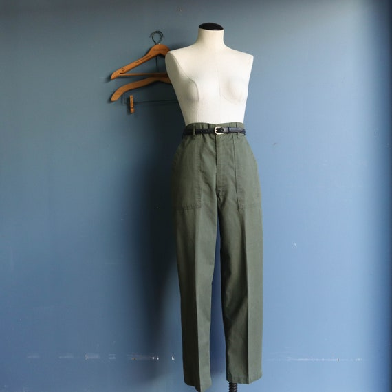 Vintage OG-507 Military Pants  Army Utility Trouse