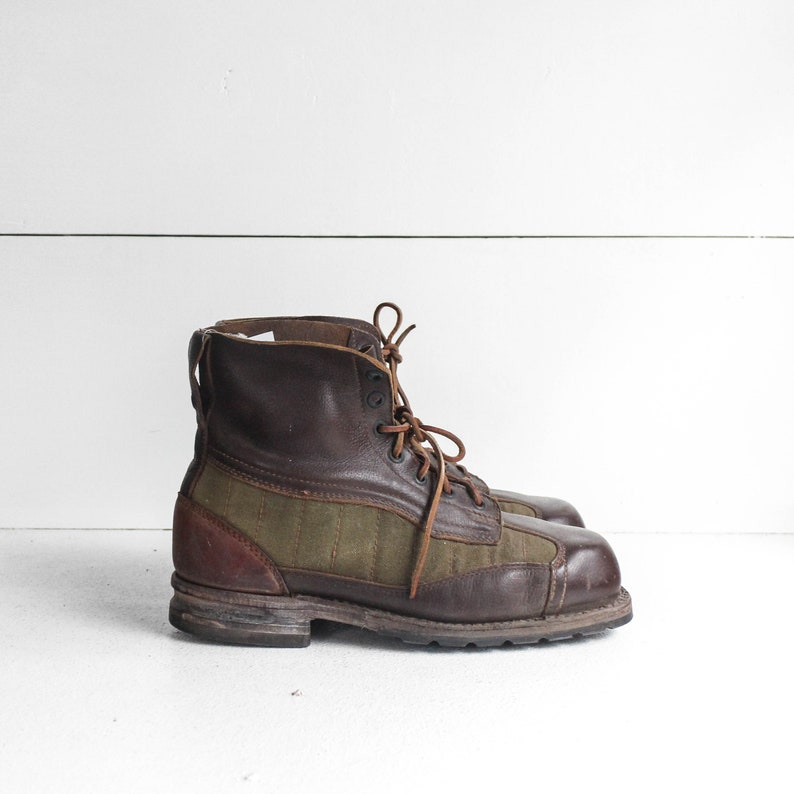 98bc717746a1 10.5 EURO 44 Swiss Army Military Ankle Boots Leather and