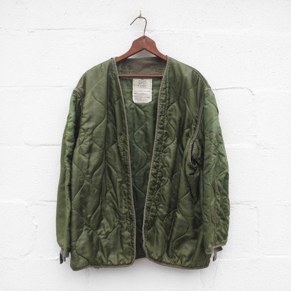 LRG | Military Cold Weather Liner Quilted Green Li