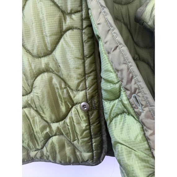 LRG   M-65 Liner Quilted Military Green Liner Coat - image 4