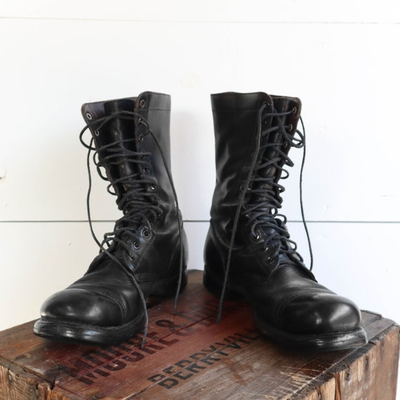 Vintage Corcoran Combat Boots Overdyed Combat Boots