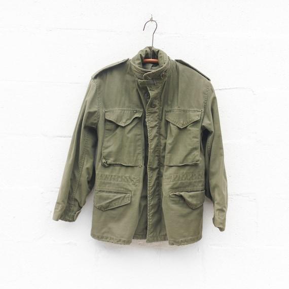Vert Veste Olive Petit Militaire M65 Supplément rrfwq