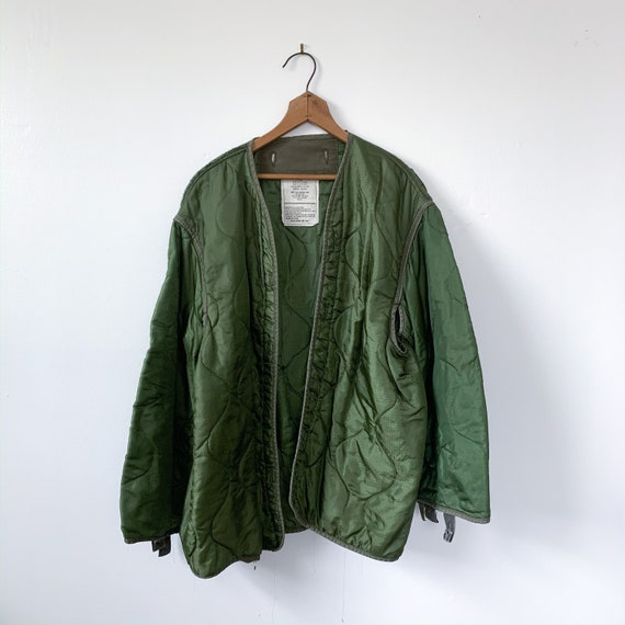 LRG | M-65 Liner Quilted Military Green Liner Coat