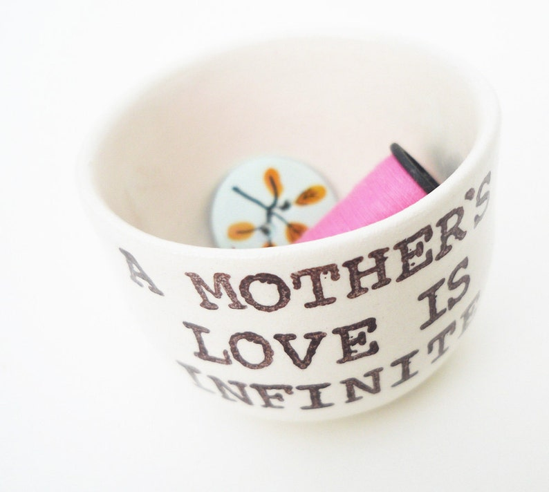 GIFT MOM ready to ship ring dish jewelry dish tea bag saver great gift for a new mom to be mother/'s day baby shower gift