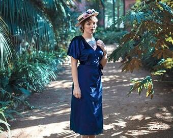 Velvet dress Wrap blue dress long gown Royal Blue Velvet Dress Sexy Dress Occasion Christmas Dress