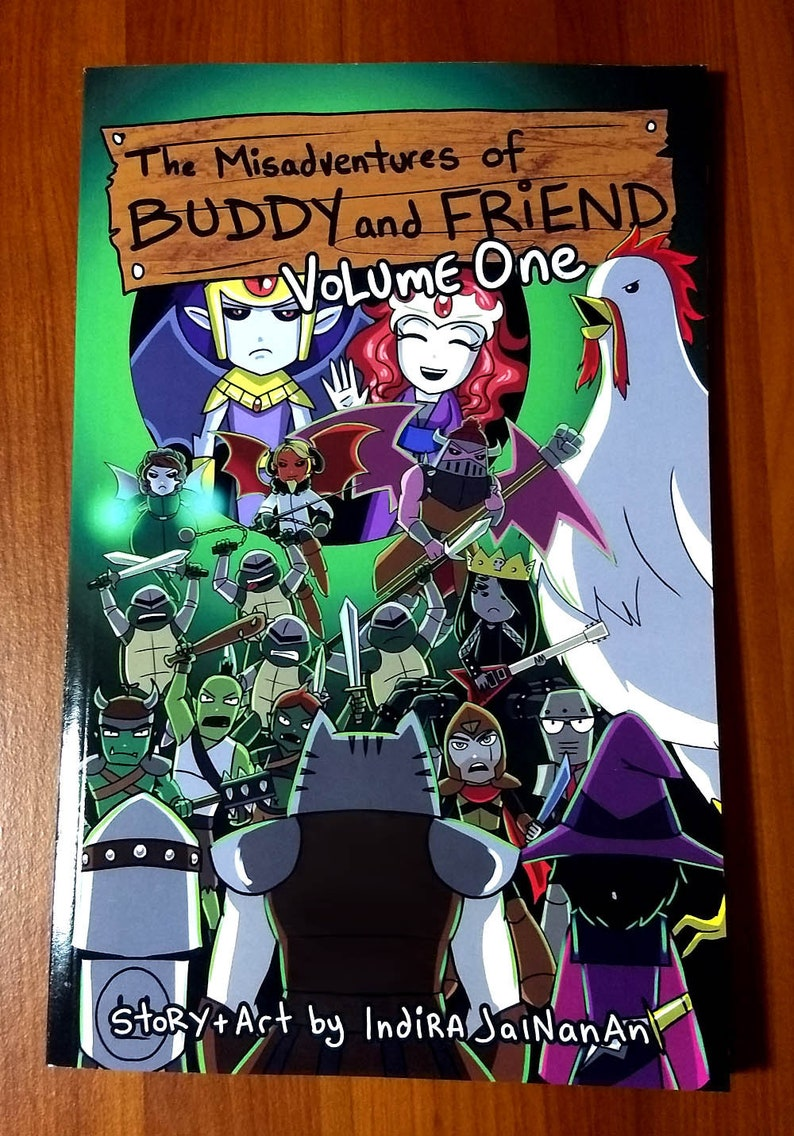 The Misadventures of Buddy and Friend Graphic Novel  Volume 1 image 0