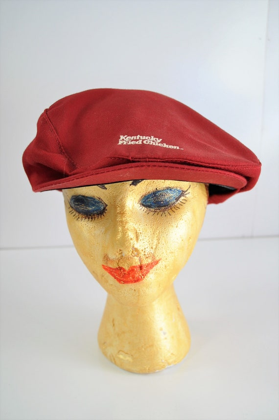 8fa9fbb1 Vintage Collectible Kentucky Fried Chicken Uniform Cap 70s 80s   Etsy